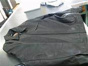 GUESS Clothing BLACK LEATHER JACKET